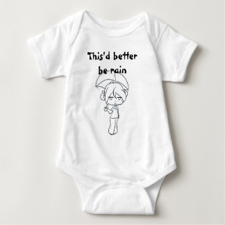 Es würde besser Säugling onsie regnen Baby Strampler