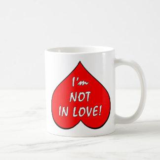 Es zerteilt Gegen Valentine Kaffeetasse