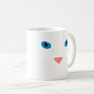 Es zerteilt mit Teurer Katze Tasse