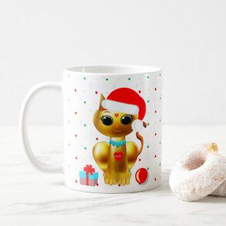 es zerteilt von Navidad schön Kaffeetasse