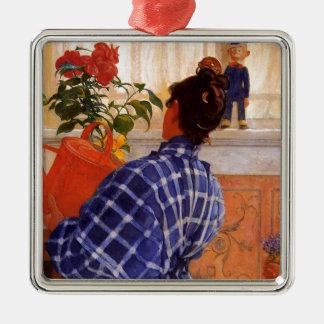 Esbjorn holt Karin-Veilchen Silbernes Ornament