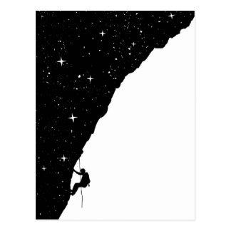 Escalade de nuit carte postale