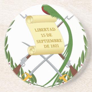 Escudo de Armas de Guatemala - Wappen Getränkeuntersetzer