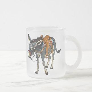 Esel mit Sattel Kaffeetasse