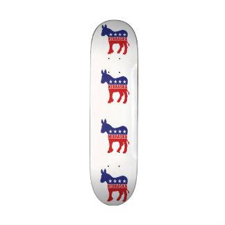 Esel Nebraska Demokrat Bedruckte Skateboarddecks
