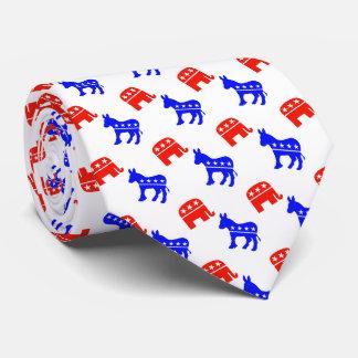 Esel und Elefanten Krawatte
