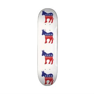 Esel Virginias Demokrat Skateboarddeck