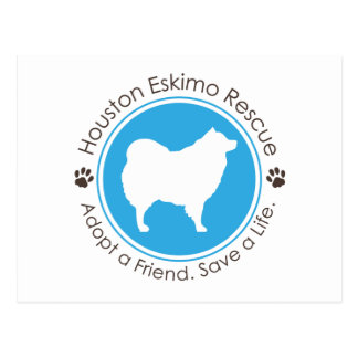 Eskie Logo Postkarte