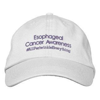Esophageal Krebs-Bewusstseins-justierbarer Hut Baseballmütze
