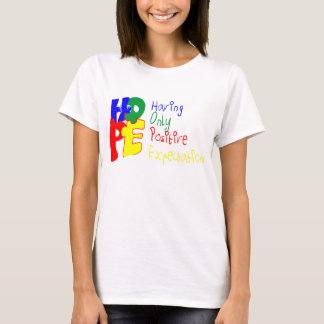 Espoir pour l'autisme t-shirt