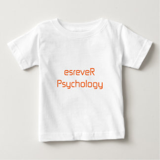 esreveRPsychology orange rosarotes Baby T-shirt