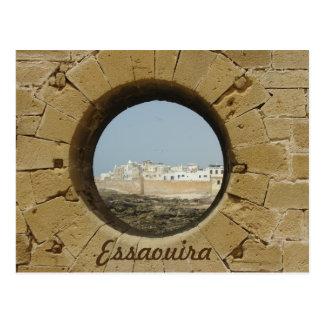 Essaouira Stadt-Wandansicht Postkarte
