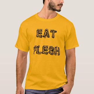 Essen Sie den T - Shirt der Fleisch-Männer