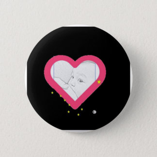 Essen Sie Einheimisches Runder Button 5,1 Cm
