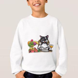 Essen Sie gesunde Mahlzeiten Sweatshirt
