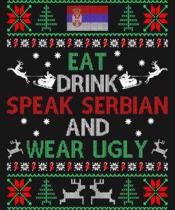 Serbisch Frohe Weihnachten.Serbisch Weihnachten Geschenke Zazzle Ch