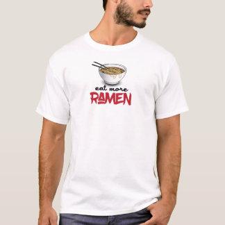 Essen Sie mehr Ramen - lustige Ramen-Nudel T-Shirt