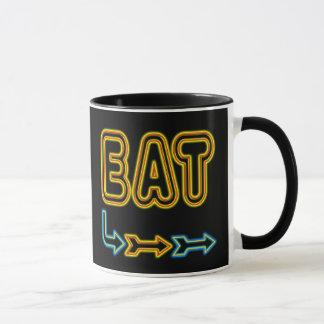 Essen Sie Retro Neonzeichen-Kunst-Kaffee-Tasse Tasse
