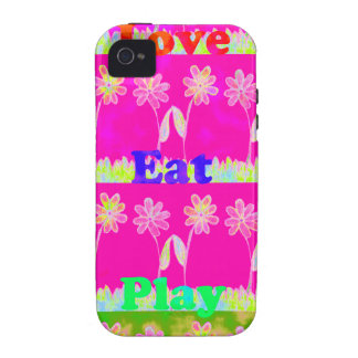 Essen Sie Save the Date Liebe und PLay.png Vibe iPhone 4 Case