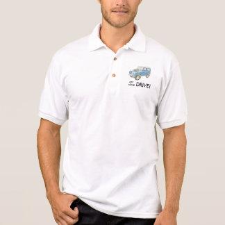 Essen Sie Schlaf-Antrieb Geländewagen-Shirt Polo Shirt
