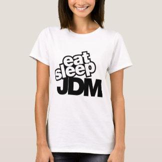 essen Sie Schlaf JDM T-Shirt