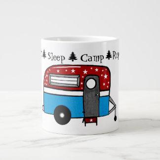 Essen Sie Schlaf-Lager-Wiederholungs-Kaffee-Tasse Jumbo-Tasse