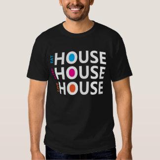 Essen Sie Schlaf-Livehaus-Musik - Dunkelheit Tshirts