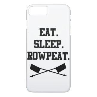 Essen Sie. Schlaf. Rowpeat iPhone 6 Plusfall iPhone 8 Plus/7 Plus Hülle
