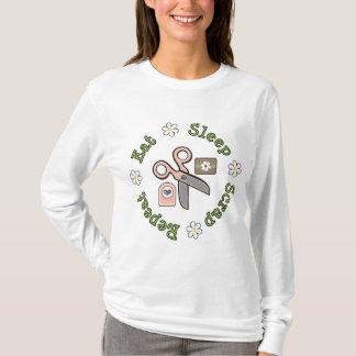 Essen Sie Schlaf-Schrott-WiederholungHoodie T-Shirt