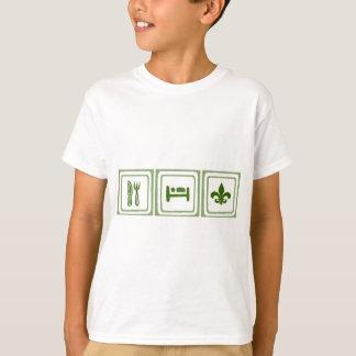 Essen Sie Schlaf… T-Shirt