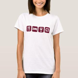 Essen Sie T-Stück der T-Shirt