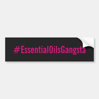 #essentialoilsgangsta Bumber Aufkleber Autoaufkleber