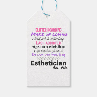 Esthetician für das Leben Geschenkanhänger