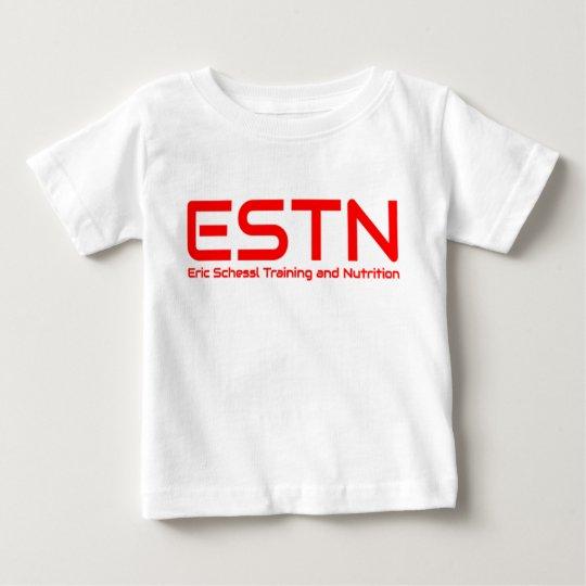 ESTN Baby-Shirt-Weiß Baby T-shirt