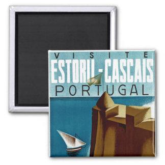 Estoril - Cascais Portugal Magnets Pour Réfrigérateur