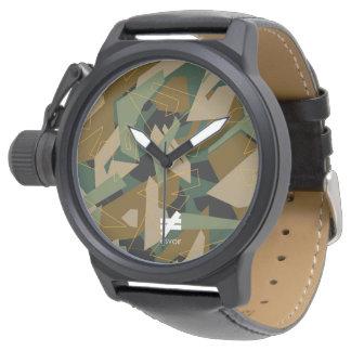 Esvoir Camouflage Mk-1 Armbanduhr