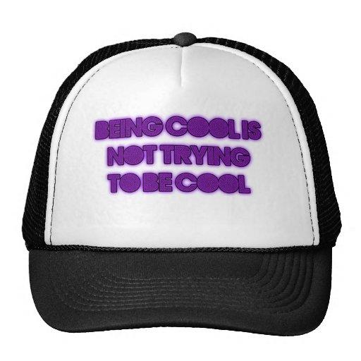 étant cool-non ce que vous pensez casquettes de camionneur