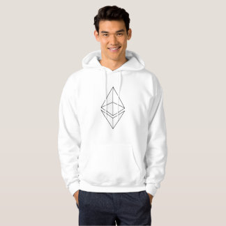 Ethereum Äther-Logo-Symbol Cryptocurrency Hoodie