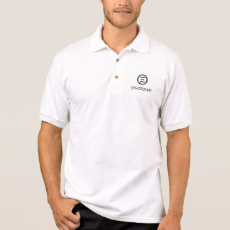 Ethereum Symbol (Schwarzes) Poloshirt