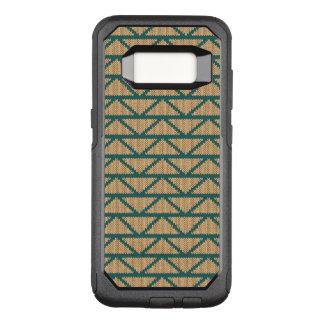 Ethnische Art gestricktes Muster OtterBox Commuter Samsung Galaxy S8 Hülle