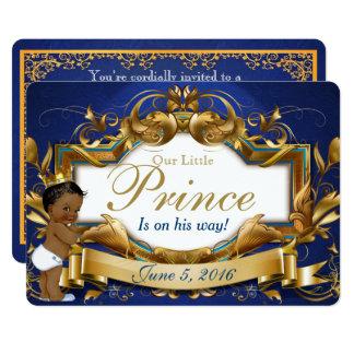 Ethnische Babyparty-Einladung Prinz-Royal 12,7 X 17,8 Cm Einladungskarte