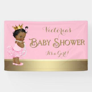 Ethnische Babyparty Prinzessin-Tutu Pearls Banner