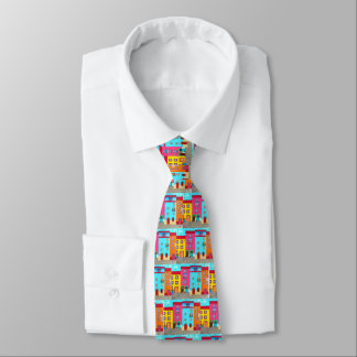Ethnische italienische Ferien künstlerisches Krawatte