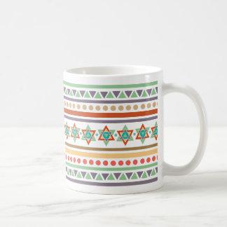Ethnisches Stammes- Muster Kaffeetasse