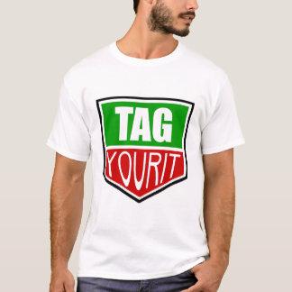 etikettieren Sie Ihr es T-Shirt