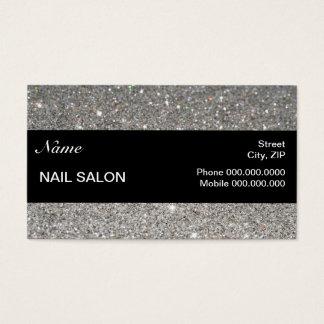étincelles et salon élégants BusinessCard de clou Cartes De Visite
