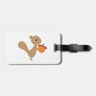 Étiquette À Bagage Étiquette de bagage d'écureuil