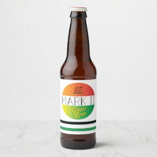 Étiquette Pour Bouteilles De Bière Bière de gingembre de la marque II
