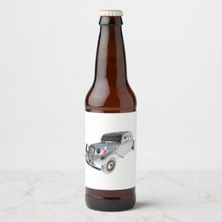 Étiquette Pour Bouteilles De Bière Vieux Citroen