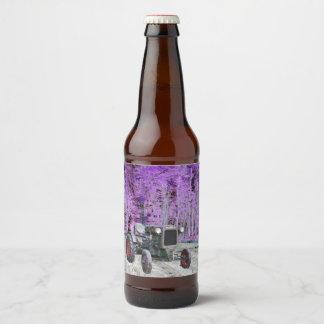 Étiquette Pour Bouteilles De Bière Vieux tracteur Deutz
